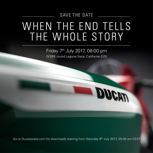 Ducati hints at Panigale Tricolore