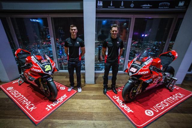 Josh Brookes, Christian Iddon - Visiontrack Ducati