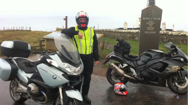 Hard-hitting video warns bikers to remain attentive