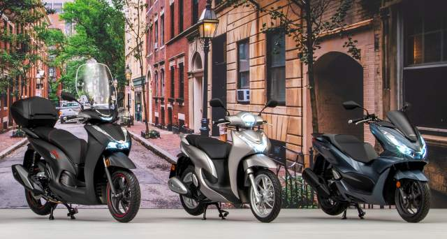 2021 Honda Scooters updated