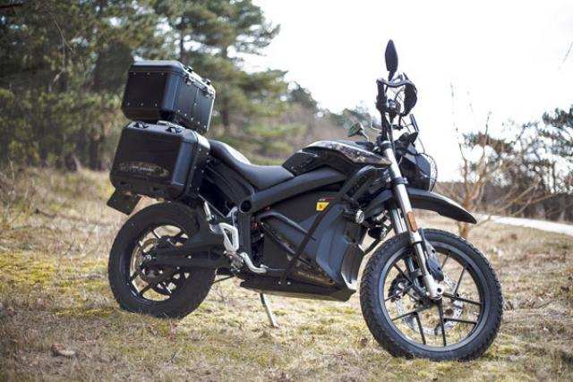 Zero launches dual sport DSR Black Forest edition