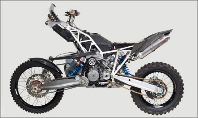 Prototype 2WD KTM 990 Adventure is plain awesome