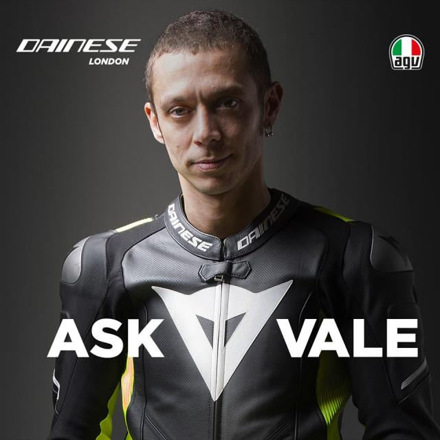 'Meet' Rossi at Dainese London Q&A