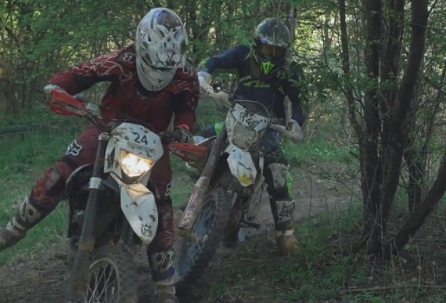 Watch: Awesome HD enduro race