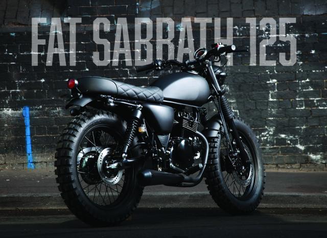 Mutt Motorcycles unveils Fat Sabbath 125