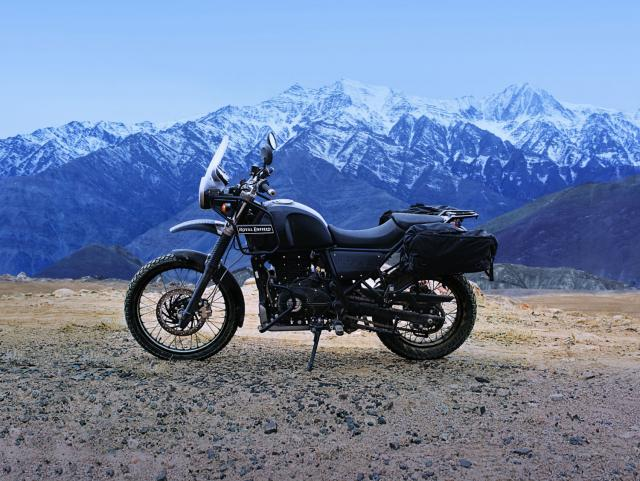 Introducing the Royal Enfield Himalayan...