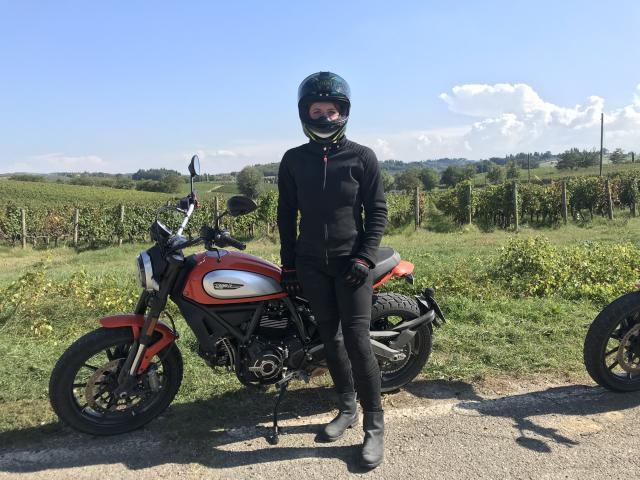Ducati Scrambler Icon MotoGirl Kevlar gear