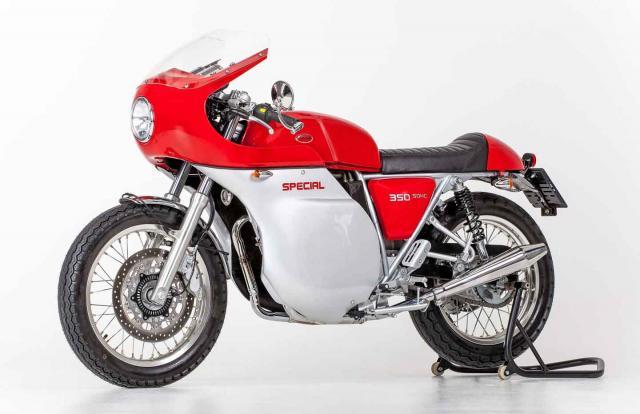 Brand spankers Jawa 350 race replica