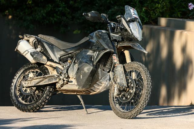 KTM 790 Adventure prototype revealed