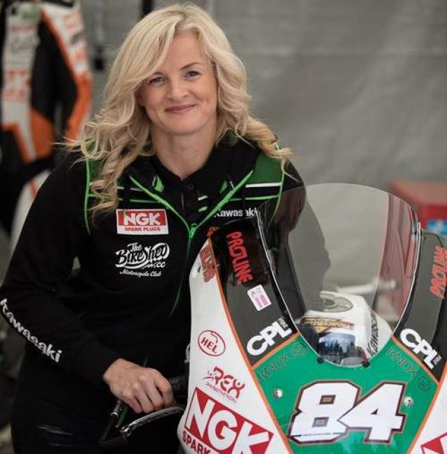 Maria Costello continues to promote road safety as IAM ambassador