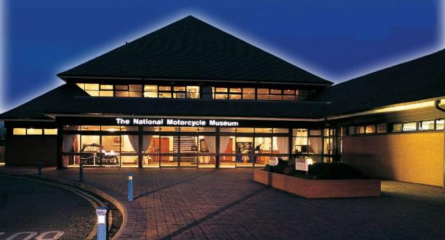 National Motorcycle Museum and mystery manufacturer offer riders £100