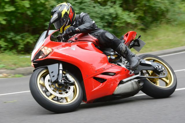2014 Panigale 899 used test