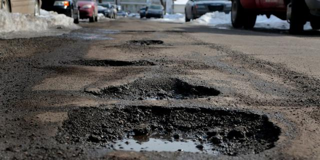 Pothole pain despite payment to pave over the problem!