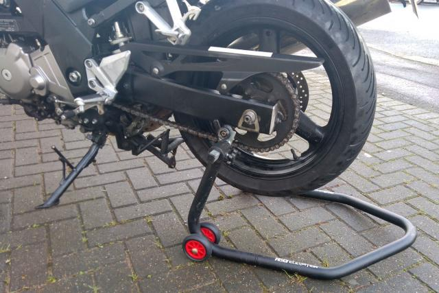How-to... remove your wheels