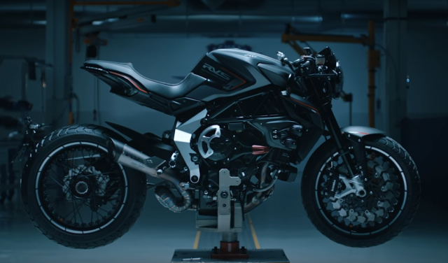 MV Agusta release bike porn video