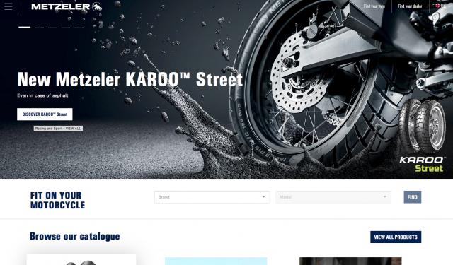 Metzeler website