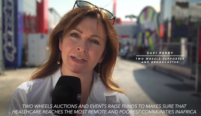 Suzi Perry day of champions 2018