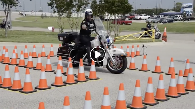 Police Officer Owns Motorcycle Course