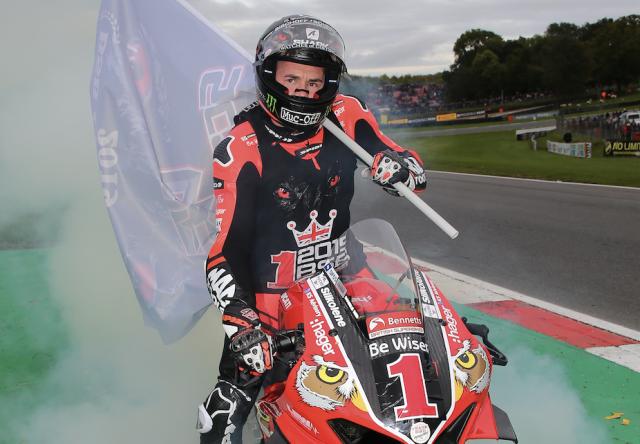 Scott Redding - BE Wiser Ducati [credit: Ian Hopgood]