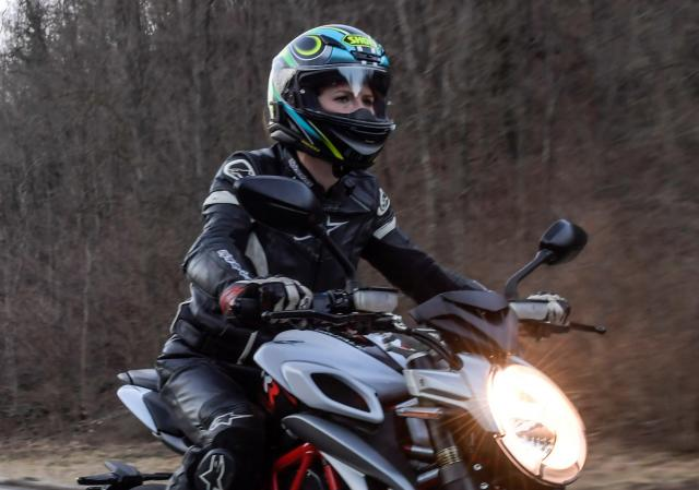 Riding with a mask under your helmet could lead to blackouts