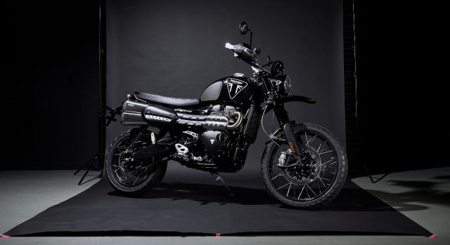 Triumph Scrambler James Bond 1200