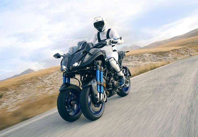 2018 Yamaha Niken price announced