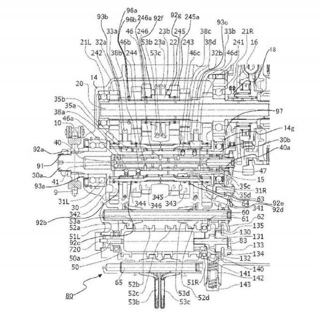 Yamaha seamless shift transmission