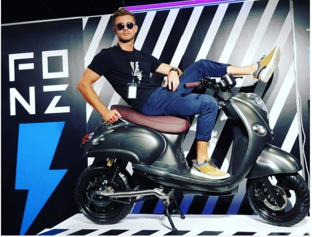 Happy Days as new Fonzarelli scooter launches Down Under