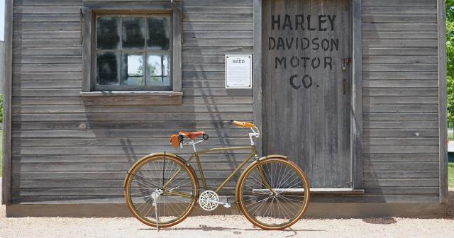 Harley-Davidson bicycle