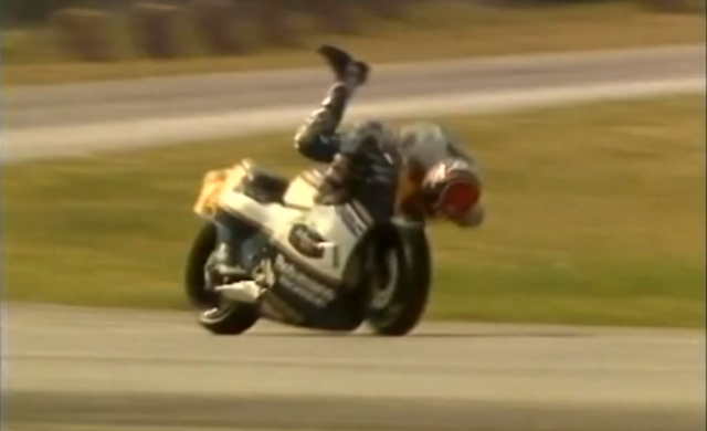 Greatest-ever MotoGP saves...