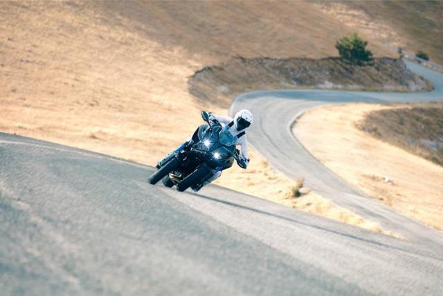Yamaha releases third Niken tech teaser video