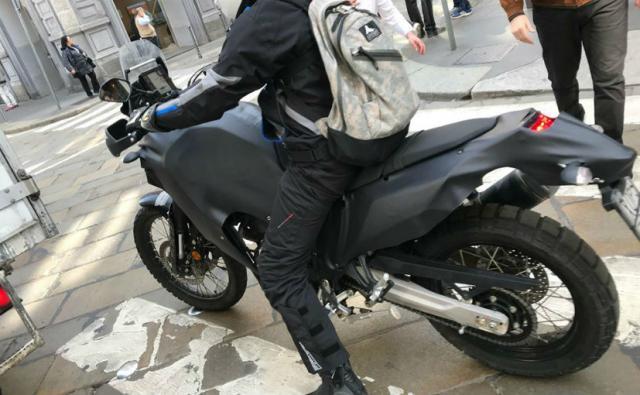 Yamaha Tenere 700 prototype spied in Milan