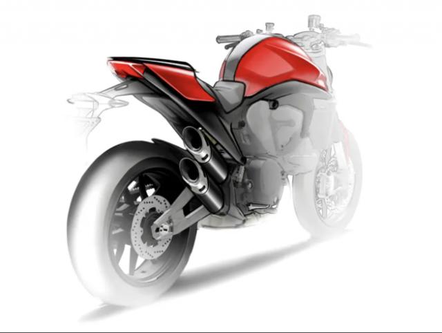 Ducati Monster 821 Teaser