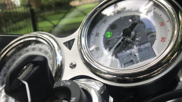 Triumph Thruxton R Track Racer review