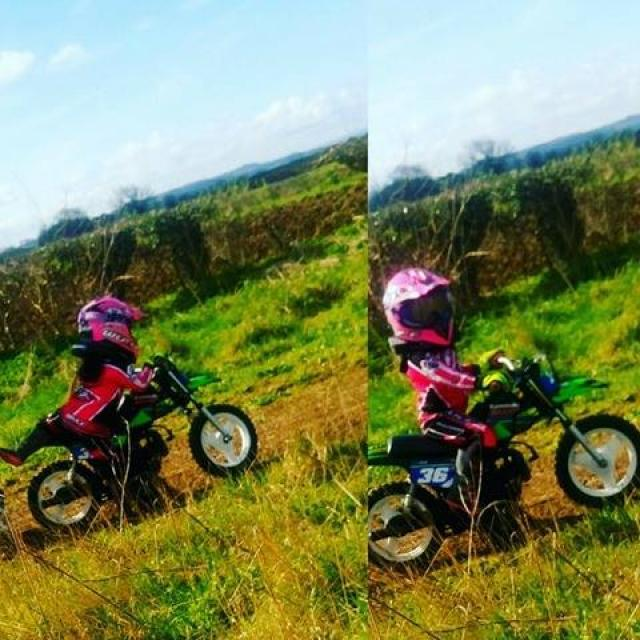 Visordown readers raise £1,400 to replace four-year-old girl's stolen bike
