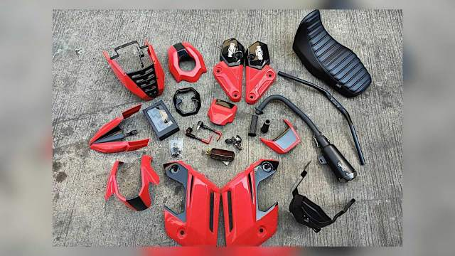 KSpeed Custom Honda Super Grom Kit