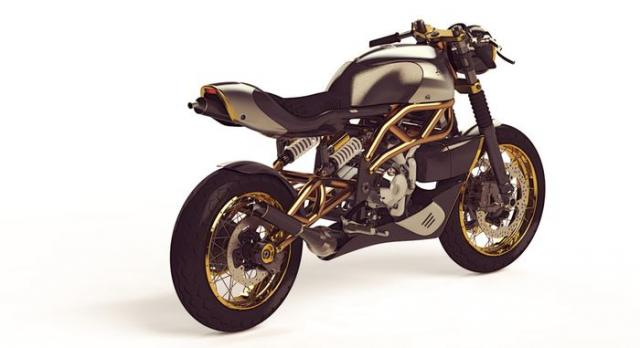 Langen two-stroke cafe racer
