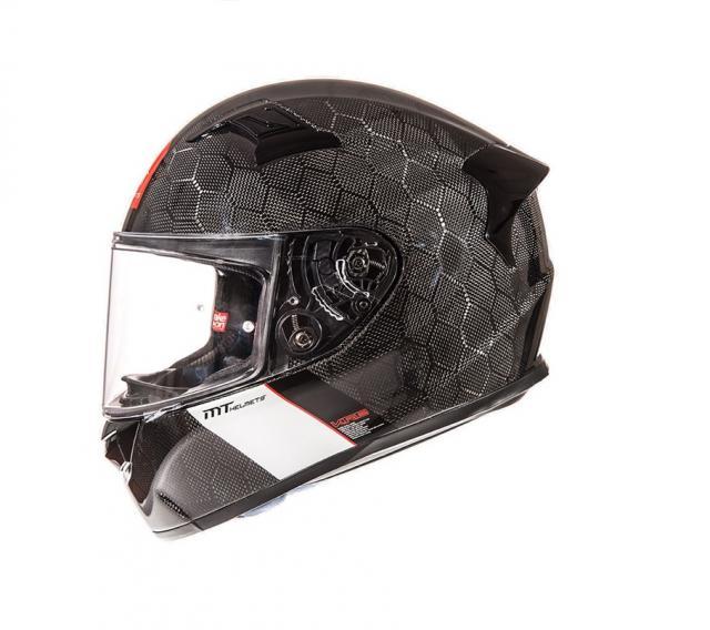 mt helmets kre sv snake carbon black