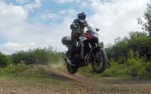 Honda CB500X Visordown Review