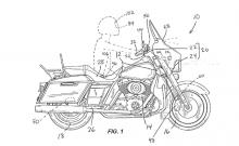 Harley braking patent