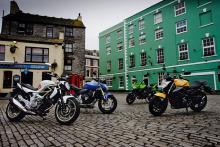 The Four Horsemen - Kawasaki Z750, Suzuki Gladius, Honda Hornet, Yamaha XJ6