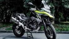 Benelli SRT500 adventure motorcycle