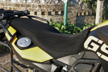 motorcycle First impressions: Cool Covers motorcycle seat cover £75