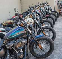 Harley-Davidson Win a Sailor Jerry-styled Harley