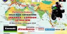 indonesia Indonesian man riding from Jakarta to London on Kawasaki Versys-X 250