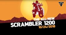 Triumph 1200 Scrambler teaser