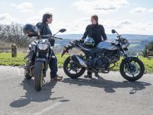 New bike test: Yamaha MT-07 v Suzuki SV650X
