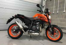 2018 long term fleet – Laura's KTM 690 Duke