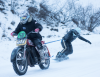 Winter Fun with Harley Davidson