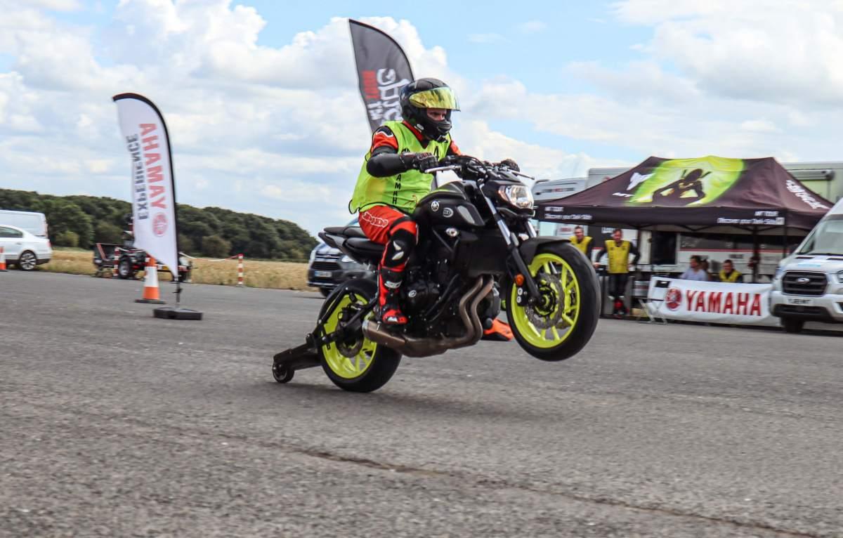 Yamaha Extreme Wheelie School review